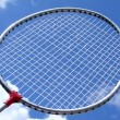 Royalty-Free Stock Photo: Racket and sky