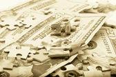 Hands hold money — Stock Photo
