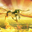 Firedrake - Stock Photo