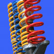 Shock-absorbers — Stock Photo
