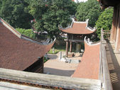 Roof of a temple of the Buddha — Stock Photo