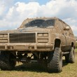 Dirty offroad car — Foto de Stock