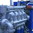 Stock Photo: Diesel engine