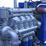The diesel engine — Stock Photo
