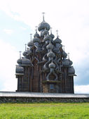 Wooden church in Kizhi — Stock Photo