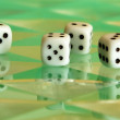 Six digital dices - Stock Photo