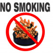 Royalty-Free Stock Photo: No smoking!