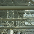 Structural steel framework - Stock Photo