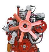 Pink diesel engine — Stock Photo
