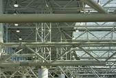 Structural steel framework — Stock Photo