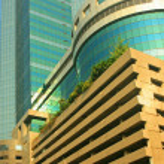 Business centre building — Stock Photo