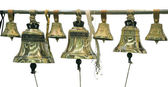 Bells from a monastery — Stock Photo