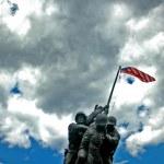 Iwo Jima Memorial HDR — Stock Photo #1346417