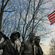 Vietnam Veteran's Memorial — Stock Photo #1346473