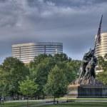 Iwo Jima Memorial HDR — Stock Photo #1347507
