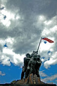 Iwo Jima Memorial HDR — Stock Photo
