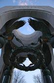 第二次世界大戦記念碑 — ストック写真