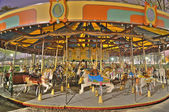 The Merry-go-round on the national mall in washington, dc — Stock Photo