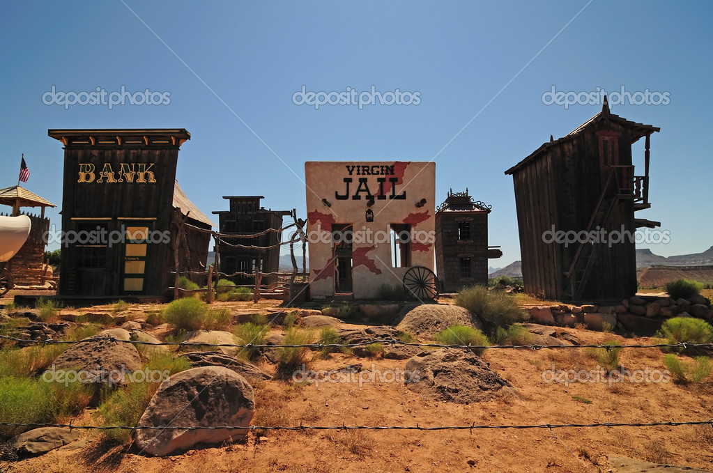 A souvenir shop in the town of Virgin, Utah — Stock Photo #1346831