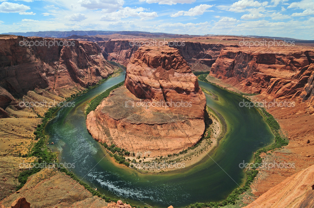 Horseshoe Bend in Page, Arizona — Stock Photo #1346897