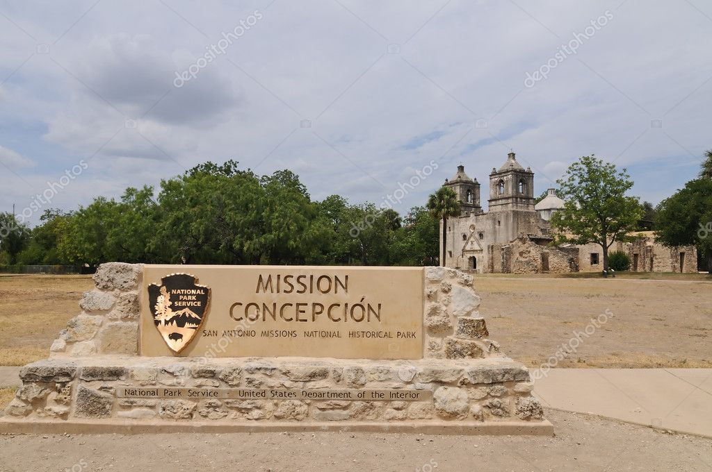 The Mission Conception in San Antonio, Texas — Stock Photo #1348645