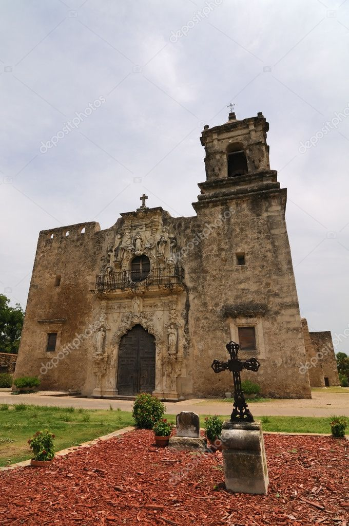 The Mission San Jose in San Antonio, Texas — Stock Photo #1348727