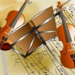 Violin background — Stock Photo #1374807