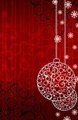 Weihnachten und neujahr hintergrund — Stockfoto