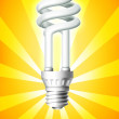 Luminous Bulb — Stock Photo