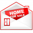 Envelop - Home For Sale — Stock Photo