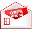 Envelop - Open House — Stock Photo