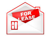 Envelop - For Lease — Stock Photo