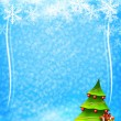Christmas and New Year background — Foto Stock
