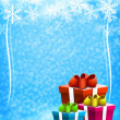Christmas and New Year background — Stock Photo