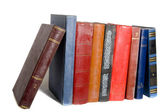 Collection of old books — Stock Photo