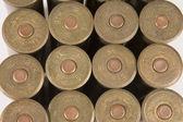 Cartridges for shotgun — Stock Photo
