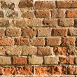 Old brick wall — Stockfoto