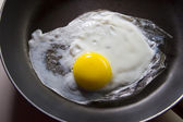 Fried egg — Stock fotografie
