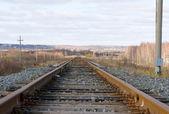 Estreito de ferrovia — Fotografia Stock