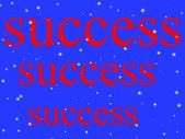 Word success — Stock Photo