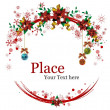 Christmas Wreaths - Stok Vektr