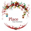 Christmas Wreaths - Stockvectorbeeld