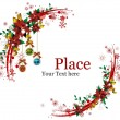 Vector de stock : Christmas Wreaths