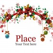 Christmas Wreaths — Vector de stock #1349142