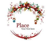 Christmas Wreaths — Vecteur