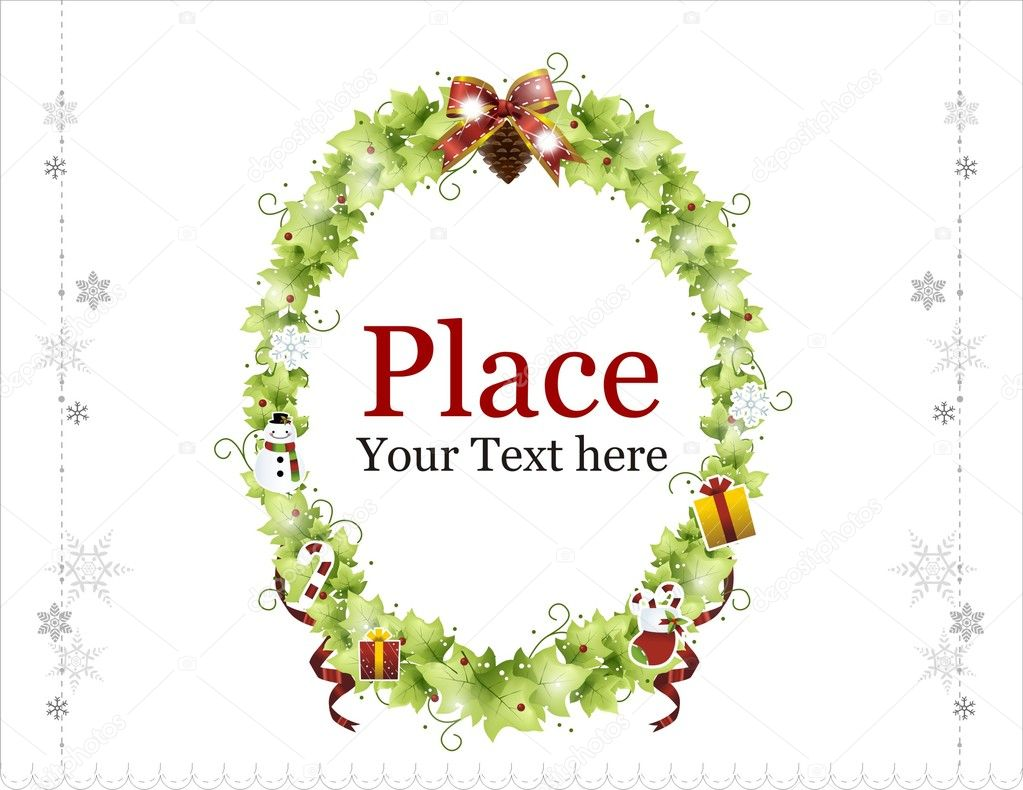 Christmas Wreaths  Stock Vector #1349146
