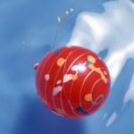 Red xmas balls — Stock Photo #1358689