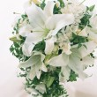 Wedding Flowers Bouquet for her - Stock Photo
