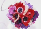 Ramo de flores para ella — Foto de Stock
