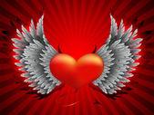 BAD HEART — Stock Vector